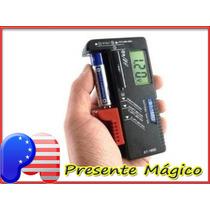 Testador Digital De Pilhas E Baterias 9v - Frete: R$ 15,00