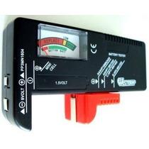 Testador De Pilhas E Baterias De 1,5 A 9v Normal E Recarrega