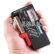 Tester Medidor Testador Pilhas E Baterias Universal