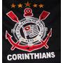Rede De Dormir Bordada Timão Corinthians - Tecido Especial