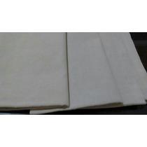 Kit 5 Tecidos - Algodão Cru Para Bordar Com Agulha Magica