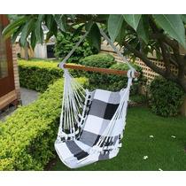 Rede Cadeira Descanso Teto Balanço Artesanal