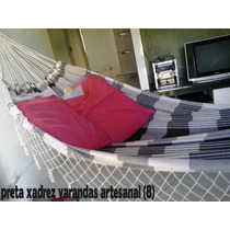 Rede Descanso Dormir Frete Gratis Artesanal Varias Cores