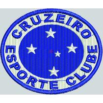 Bordado Termocolante Time Cruzeiro Fc 7cm X 7 Cm