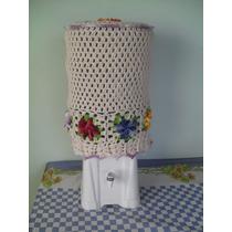 Capa P/ Garrafão De Agua 20l Em Crochê De Barbante Artesanal