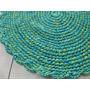 Tapetes De Crochê Redondo ( Par ) 70 Cm De Diàmetro