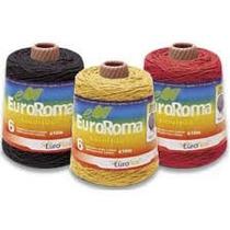 Barbante Euro Roma - Diversas Cores