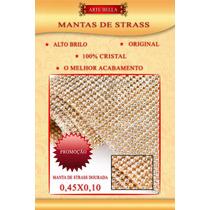 Manta De Strass Original! Alto Brilho 0,45x0,10 Menor Preço