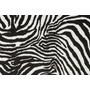 Tecido De Pelúcia Estampa De Animais Zebra - Rolo 15 Metros