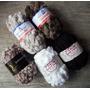 Fio Pompom Lã Para Crochê Ou Tricô - Kit 5 Unidades + Brinde