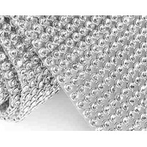 Manta Strass Cristal Alto Brilho 10x45cm - Promoção Original