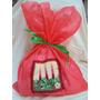 Embalagem Saquinho Para Presente De Natal De Tnt