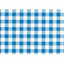 Tnt Impresso Xadrez Para Painel E Mesa De Festa Azul -1m