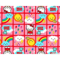 Tecido Importado Hello Kitty