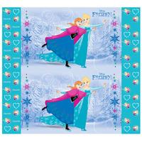 Painel Em Tnt Impresso Anna E Elsa Frozen