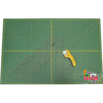 Base Corte 90x60 Régua Cortador Manual Patchwork Scrapbook