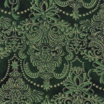 Tecido Natalino Gold Decor Verde 100% Alg 0,5m (200073/41)