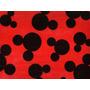 Tnt Impresso Silueta Mickey / Minnie Para Painel - 2 Metros