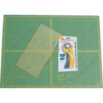 Base Corte 60x45 Régua Cortador Manual Patchwork Scrapbook