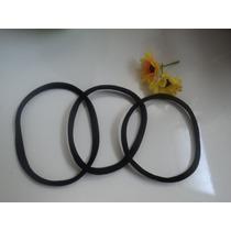 Kit Com 3 Tiaras Headband Sem Emenda - Afro Puff