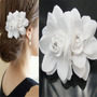 Arranjo Acessório Enfeite Flor Cabelo Noiva Presilha