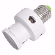 Sensor De Presença P/lâmpada C/foto Célula Iluminação Autom