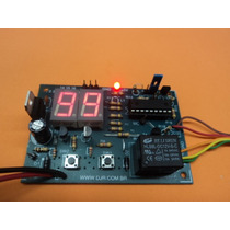 Timer Temporizador Digital 1 A 99 Seg Ou 1 A 99 Minutos