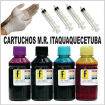 Kit Recarga Cartucho Pg145 Cl146 Canon Mg2410 Mg2510 400ml