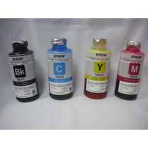 Refil Tinta Original Epson P/ Impressora L110 L200 L210 L335