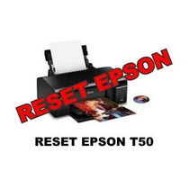 Reset Impressora Epson T50
