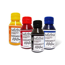 Tinta Sublimatica Mizink P/ Transfer - Frasco 100ml Inktec