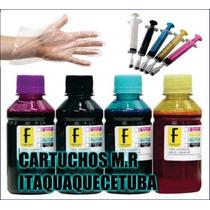 Kit Tinta Recarga Cartucho Impressora Hp Ou Epsontx -2 Litro