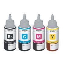 Refil Tinta Original Epson P/ Impressora L100 L200 L355 L800
