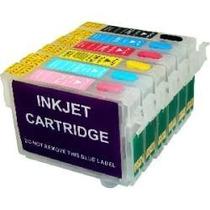 Cartucho Recarregavel - R270-tx720wd- T50-rx590 + Tinta