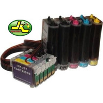 Bulk Ink P/ T1110 A3 Rx1110cb Tx515 + 500ml Tintas
