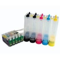 Bulk Ink Impressora T33 Tx515fn A4 E T1110 A3 +500ml +brinde