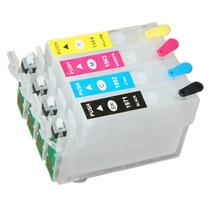 Cartucho Recarregável Xp401 Xp214 Xp201 Xp204 + 140ml Tinta