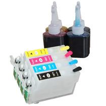 Cartucho Recarregável Xp401 Xp214 Xp204 Xp201 + 205ml Tintas