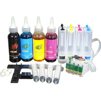 Bulk Ink Tx135 Tx125 Tx123 Tx133 T25 Com Tinta +dispenser