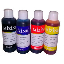 Kit Tinta Sublimatica Mizink 100ml Cada