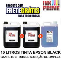 Tinta Para Impressora Epson Recarg Cartucho Frete Gratis 10l