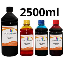 Recarga 4 Tinta Impressora Epson T20 T23 C92 Bulk Ink 2500ml