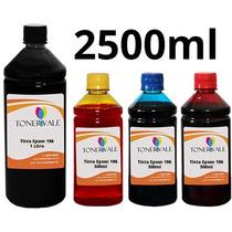 Recarga 4 Tinta Impressora Epson Xp 214 Xp 401 Xp 411 2500ml