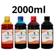 Kit 4 Tinta Epson Universal Tx420w Tx125 T23 C92 Bulk Ink