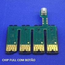 Chip Combo Bulk Ink T25 Tx123 Tx125 Tx133tx135 Botão Reset
