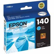 Cartucho Epson 140 Ciano Original Lacrado Vencido