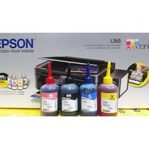 Refil Tinta Corante Epson Inktec L355 L365 L455 1 Unid 100ml