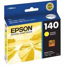 Cartucho Epson 140 Amarelo Original Lacrado Vencido