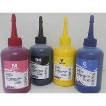 4 Unidades De 100ml Tinta Epson Pigmentada Inktec