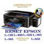 Reset Epson L310.l311.l361.l363.l561.l563.l810/l811